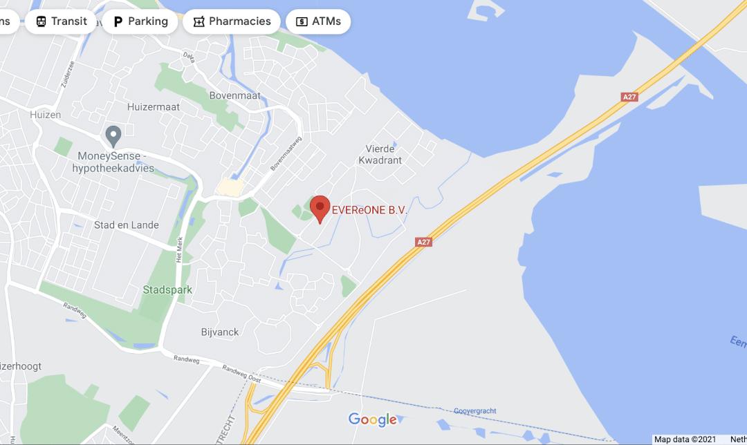 Bedrijf toevoegen aan en zichtbaar op Google Maps