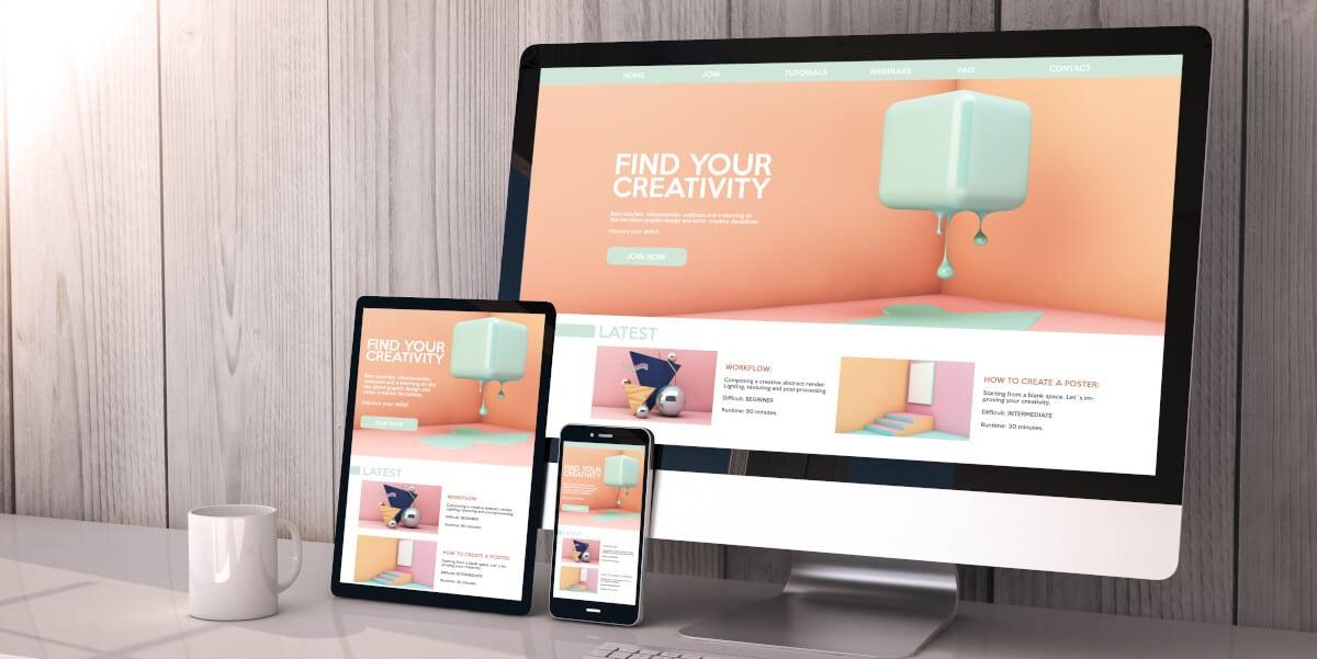 Webdesign voor een responsive website in Blaricum